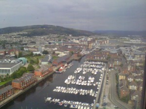 Aug 2011 from tower in marina