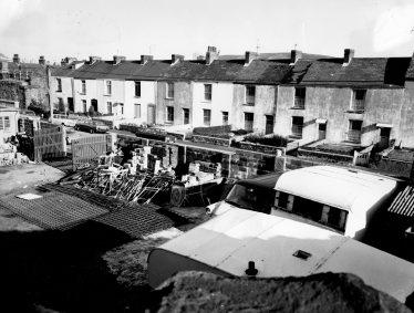 Builders yard in Paxton street