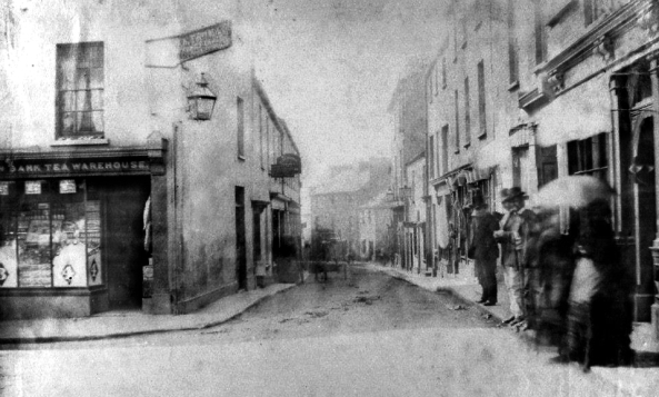Caer Street about 1880