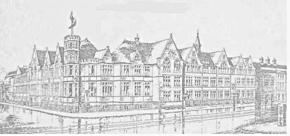 An illustration of Dynevor Grammar school 1929