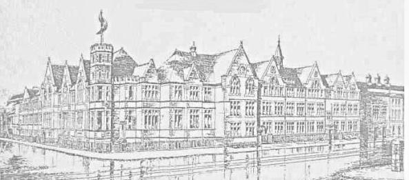 An illustration of Dynevor Grammar school 1929