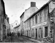 Frog street adjacent to St Marys Church. This Street was demolished in a slum clearance programme