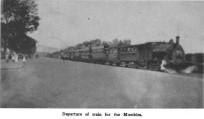 Mumbles train postcard