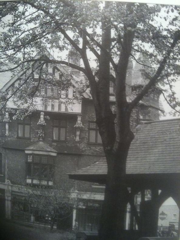 The Swansea Devil overlooking St Marys from Rutland Street