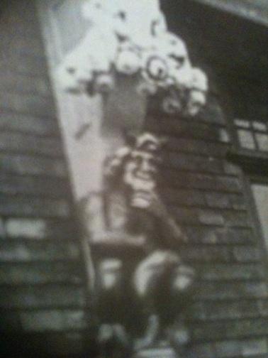 swansea devil statue St marys