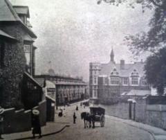 Dynevor School Swansea from Mount Pleasant