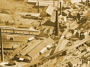 Landore Swansea in 1957