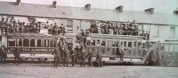 Mumbles Train Rutland Street 1878