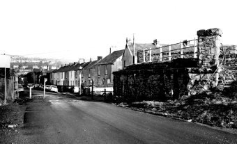 Railway bridge about to be demolished in Paxton Street