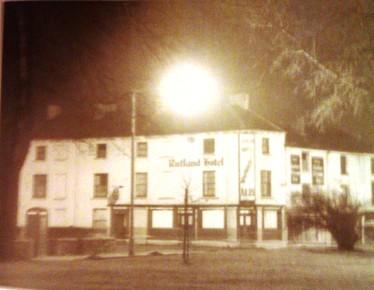 Rutland Hotel at corner of Rutland street and Wasail Square 1976