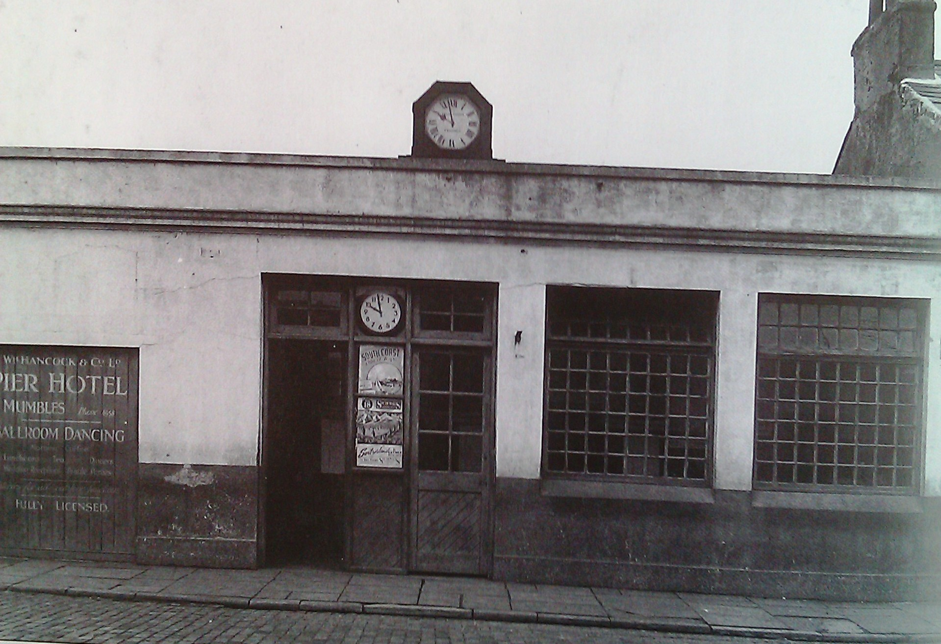 rutland street m train station 1951 - The Swansea & Mumbles Railway
