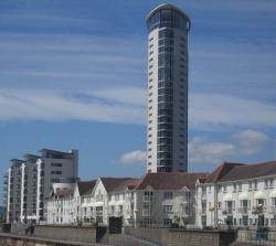 Apartments and tower restuarant 2012