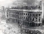 Temple Street in Swansea destroyed in 1941