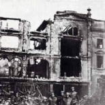 Temple Street. in ruins 1941