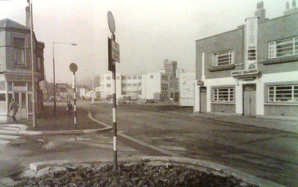 Terminus Pub near the bottom of Rutland Street in 1954