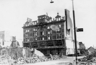 War damaged Woolworth Store from College Street