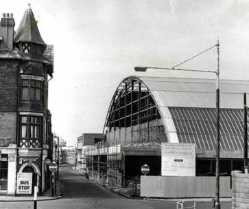 Swansea Market from Orange Street