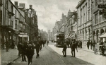 Swansea Wind Street 1905 showing the Star Theatre later to become the Rialto Cinema