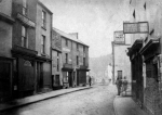 College Street 1880 looking west towards where the Kingsway is today