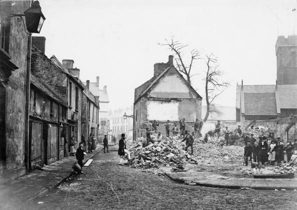 Cross Street 1870