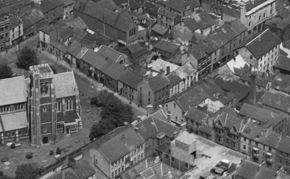 Cross, Fisher Street and St Marys Street 1920s