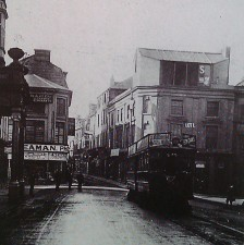 high street towards castle street 1909