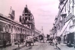 Swansea Market from oxford street in 1897