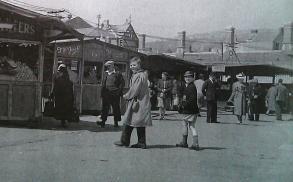 Swansea open air Market 1950s
