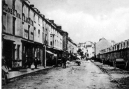 Oxford Street 1830 with market