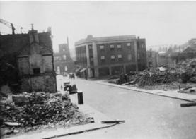 portland street from Gower Street