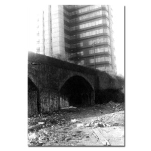 Delapidated arches on the strand