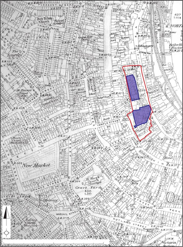 Old street layouts Swansea Recalled