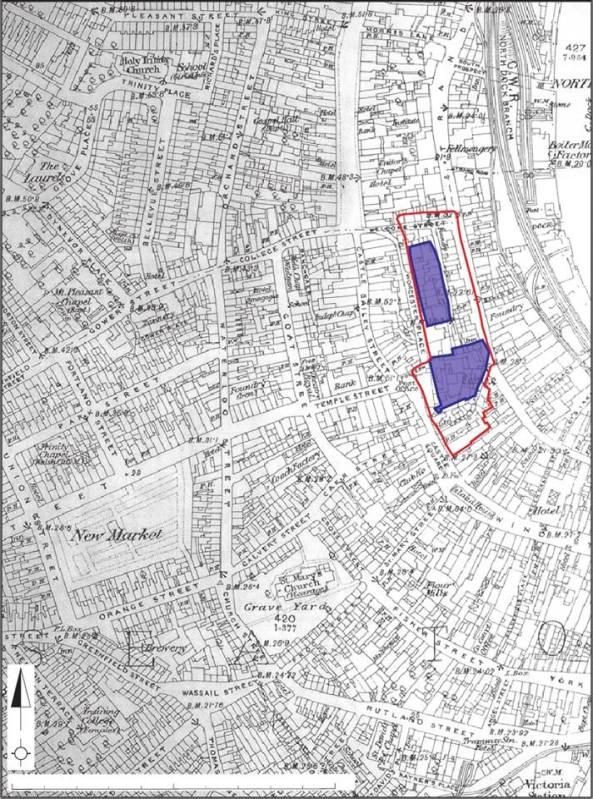 swansea town map 1920s
