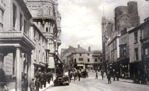 Wind street with Ben Evans on the left