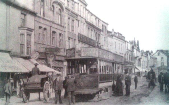 1905 Tram Terminus High Street