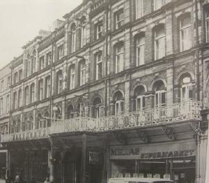 The Mackworth Hotel High Street demolished in 1971
