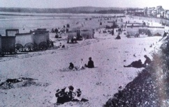 Changing huts on swansea beach