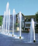 New look Castle Gardens at Swansea