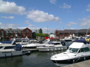 Marina at Swansea 2011
