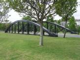 The Slip Bridge's new home near the Wreck Ground Swansea