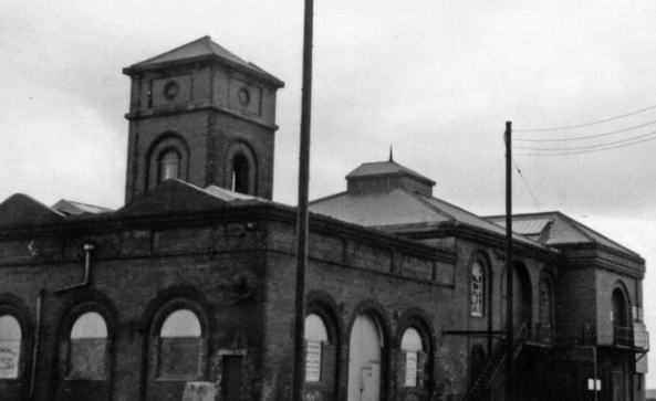 South Dock Pump House 1970s