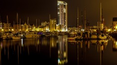 Marina at night 2013
