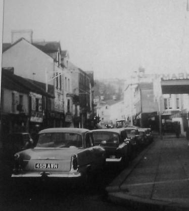 Union Street in Swansea in the 1960s