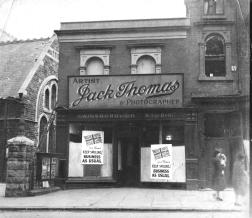 St Helens Road in Swansea 1940