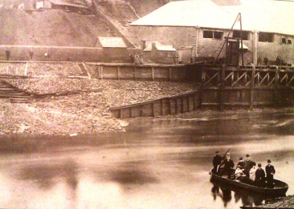 River Tawe White Rock Ferry 1890s