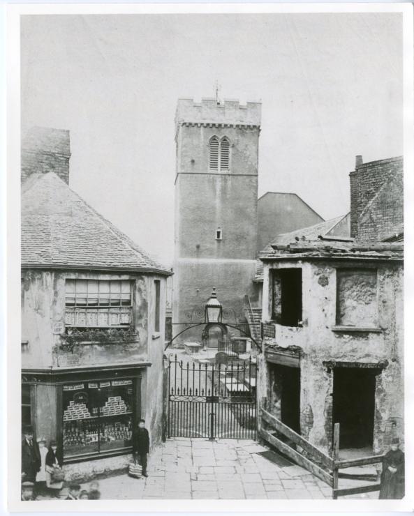 St Marys Church Swansea Eastern Gate, Cross Street