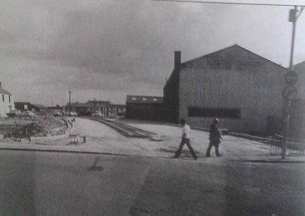 West Way from Oystermouth Road to the Kingsway , today Tesco would be occupying the area on the right