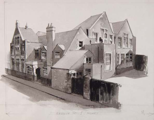 The national School in Oxford Street illustrated in 1911