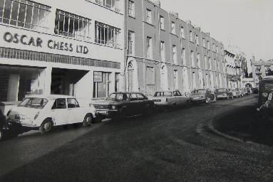 Oscar Chess garage in Gloucester Place Swansea