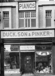 Duck, Son and Pinket at 11 Union Street Swansea